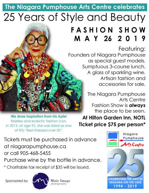 Niagara Pumphouse Fashion Show